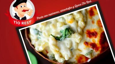 pasta-con-espinacas-alcachofas-y-queso-tio-rest